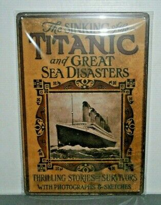 TMS2 Titanic Metal Sign New 30 cm H X 20 cm W