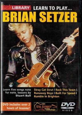 Lick Library Learn to Play Brian Setzer