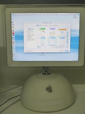 Vintage Apple iMac G4 all in one computer