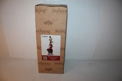 """Jim Shore """"Wonders In The Woods""""  Stacked Santa With Animals New Sealed"""