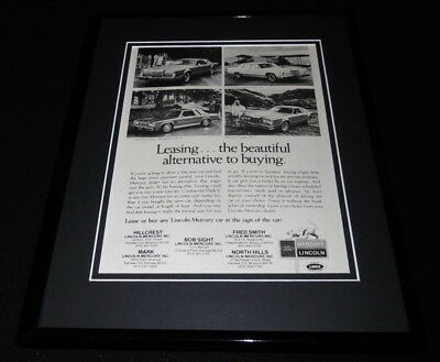 1978 Missouri Ford Mercury Lincoln 11x14 Framed ORIGINAL Vintage Advertisement