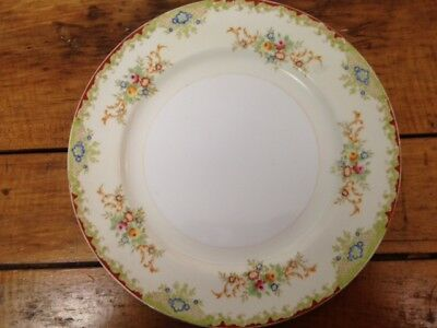 Vintage Embassy China Dinner Plate Japan ~ Lovely floral design ~ Great display