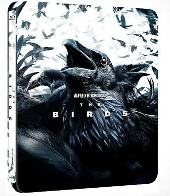 The Birds Limited Steelbook Blu Ray