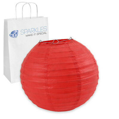 """12 pcs 6"""" inch Chinese Paper Lantern - Red - Wedding Party Event Decoration ap"""