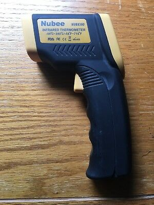 Nubee Infrared Thermometer Temperature Gun With Laser Sight