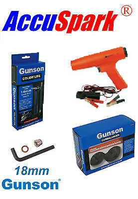 Accuspark Stroboscope, Gunson Carburant Balancier / Colortune + 18mm Adaptateur