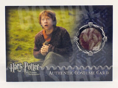 Harry Potter Prisoner Azkaban Update Ron's Jumper Costume Card HP #690/731
