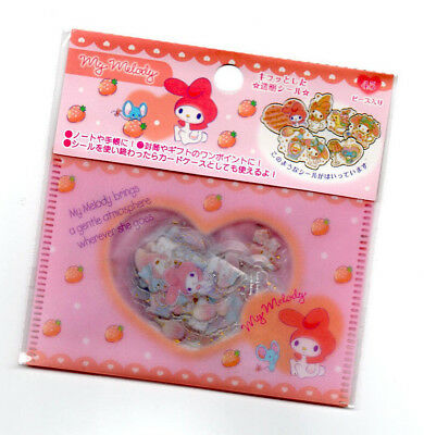 Sanrio Original My Melody Kawaii Stickers Sack sticker flakes Japan