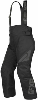 FXR Black Ops Youth Clutch Insulated FAST Snowmobile Pants Bibs Snow 2019
