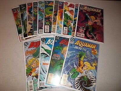 Aquaman #1-15 (Complete lot of 15) From the 1994 1-75 series