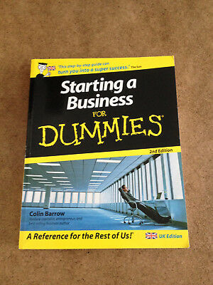 Starting a Business for Dummies by Colin Barrow (Paperback, 2007)