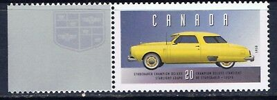 Canada #1605p 1996 20 cent Vehicles STUDEBAKER CHAMPION DELUXE (1950) MNH