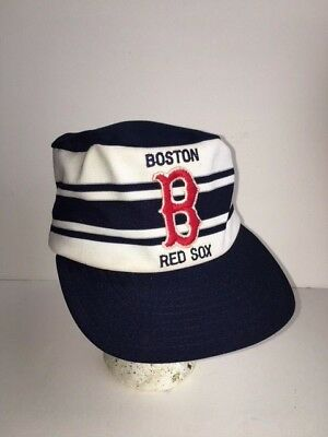 Vintage Boston Red Sox Pillbox hat cap snapback 70s 80s RARE MLB redsox 9b819da4fe61