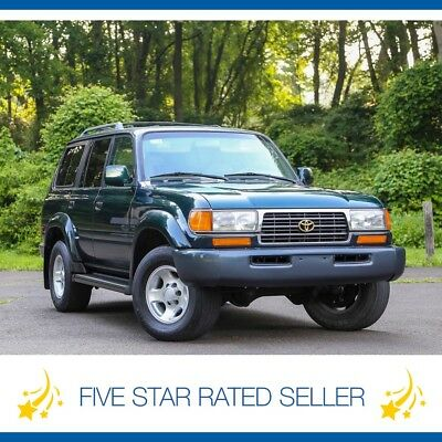 Toyota Land Cruiser Fully Serviced Tow Package 3rd Row 4WD FJ80! 1997 Toyota Land Cruiser Fully Serviced Tow Package 3rd Row 4WD FJ80!