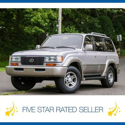 Lexus LX LX450 Diff LOCK 1 Owner 3rd ROW FJ80 Land Cruiser Rare 141K mi 1997 Lexus LX450 Diff LOCK 1 Owner Video FJ80 Land Cruiser Video 141K mi
