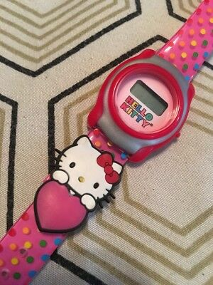 c059527b3 SANRIO HELLO KITTY Digital Watch Nice - $10.00 | PicClick