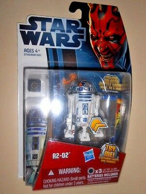 R2-D2 ( Electronic Lights & Sounds ) Star Wars ( 2012 ) Clone Wars Action Figure