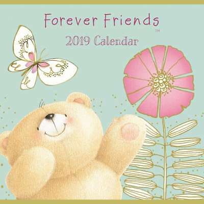 2019 Calendar, Forever Friends 16-Month Mini Wall Calendar by Browntrout