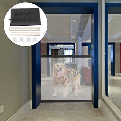 Mesh Magic Pet Dog Gate Safe Guard And Install Anywhere Pet Safety Enclosure UK