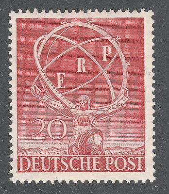 Germany, Berlin Stamp #9N68 — Recovery Plan — 1950 Mint