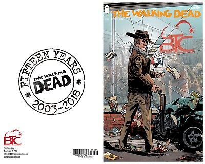 The Walking Dead #1 15th Anniversary BTC Exclusive Limited To 500 Copies