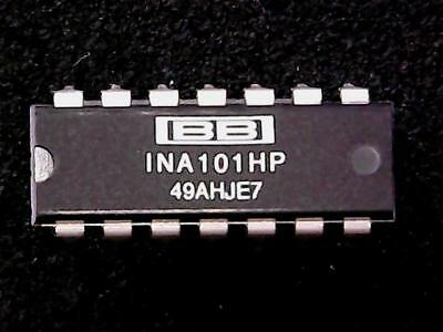 INA101HP - Burr Brown High Accuracy Instrumentation Amplifier (DIP-14) GENUINE