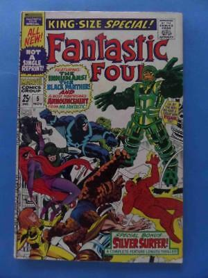 Fantastic Four Annual 5 1967 Inhumans + 1St Solo Silver Surfer! Very Nice!