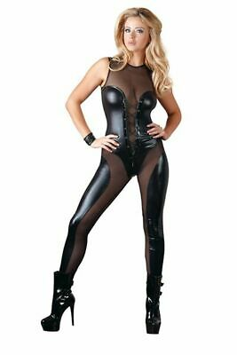 Cottelli Collection Party Overall schwarz L Body Catsuit Erotik Bekleidung