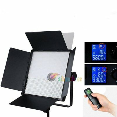 GODOX LED1000C Changeable Version Studio LED Light Lighting Panel + Remote【AU】