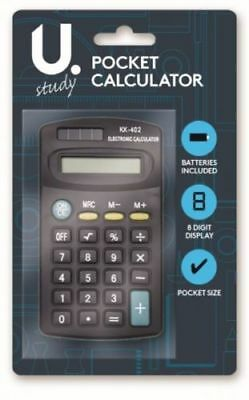 Pennine Small 8 Digit Display Mini Pocket Size Calculator For Home School Office