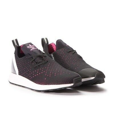 new product 0e1bf edeeb closeout adidas zx flux adv trainers black and pink uk 7.5 c6fc7 59ffb
