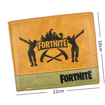 Fortnight Game Bifold Wallet Mens Wallet with 3 credit card slots