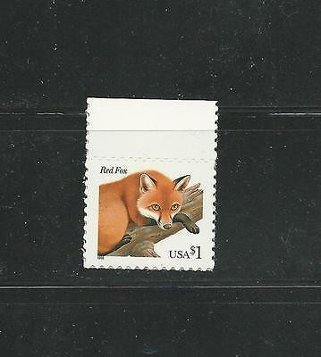 1998 #3036 $1.00 Red Fox Mint Single Stamp