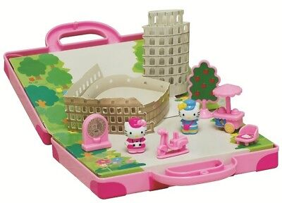 Hello Kitty World Mini Town Story Playset Rome