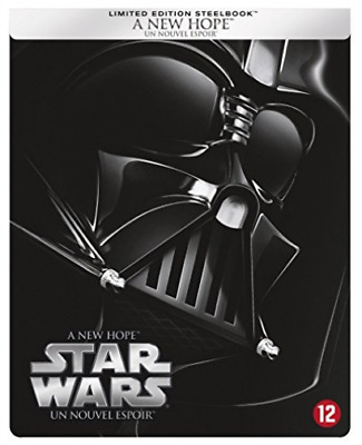 MOVIE-Star Wars episode 4 - A New Hope - Dutch Import Blu-Ray NUEVO