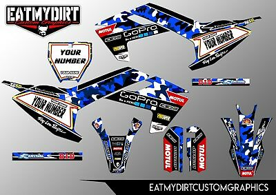 FOR HUSQVARNA HUSKY Boy 50 Semi Custom Graphics Kit Stickers