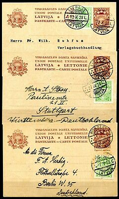 Lettland   GS P-4 I.  Lot