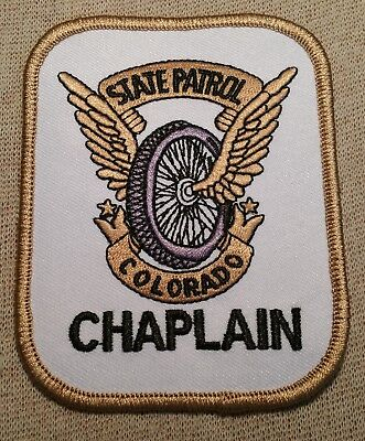 CO Colorado State Police Chaplain Patch