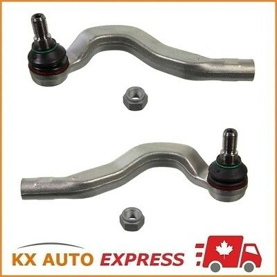 2X Front Outer Steering Tie Rod End for Mercedes-Benz E320 E430 4Matic AWD