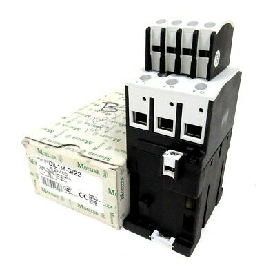 New Moeller Dil1M-G/22 Contactor Dil1Mg22