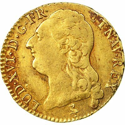 [#511281] Monnaie, France, Louis XVI, Louis d'Or, 1789, Paris, TTB, Or