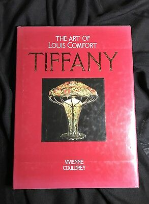 1996Antique reference book The Art of Louis Comfort Tiffany by Vivienne Couldrey