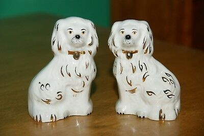 "Pair 3.5"" Beswick Staffordshire England King Charles Spaniel Figures 1378-7"