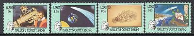Lesotho MNH 1986 Appearance of Halley's Comet