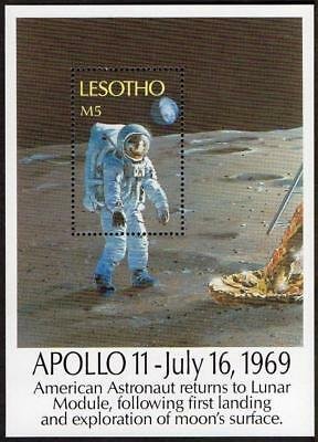 Lesotho MNH 1989 20th Anniv.y of the First Manned Landing on the Moon M/S
