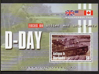 Antigua & Barbuda MNH 2004 The 60th Anniversary of D-Day Landings M/S