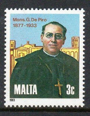 Malta MNH 1983 The 50th Anniversary of the Death of Guiseppe De Piros