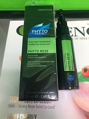 Phyto RE30 Grey Hair Treatment (Pigment Technology) 1.69 Freeshipping
