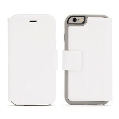 White Flip Cover for iPhone 6, 6S Identity Wallet Case by Griffin
