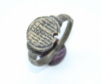 Ancient Old Viking Bronze Ring (OCT53)